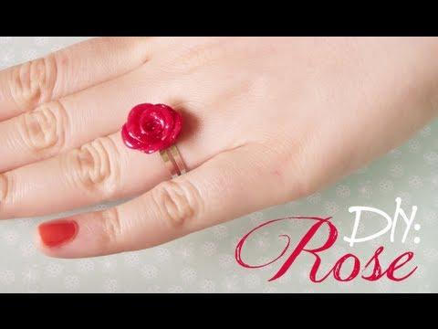 tutorial fimo - come creare delle rose