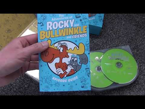 The Adventures of Rocky and Bullwinkle and Friends - The Complete Series DVD Unboxing