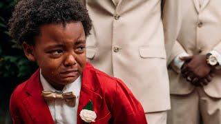 Boy, 5, Cries Tears of Joy Watching Mom Walk Down the Aisle at Wedding