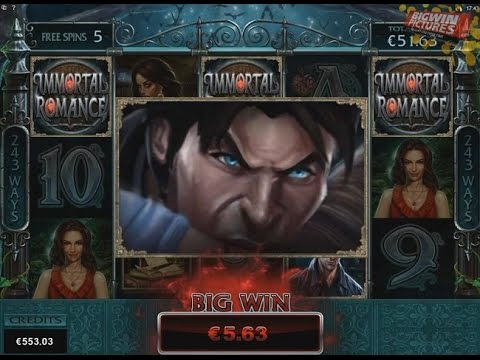 Immortal Romance - Troy Feature With 3€ Bet!