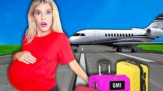 My FIRST Trip PREGNANT! (WORST Pregnancy 24 Hour Challenge in Hawaii)   Rebecca Zamolo