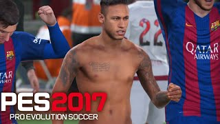 PES 17 Gameplay DEMO -Pro Evolution 2017 FC Barcelona vs Flamengo (PS4) Pro Evolution Soccer 2017 (officially abbreviated as PES 2017, also known in ...