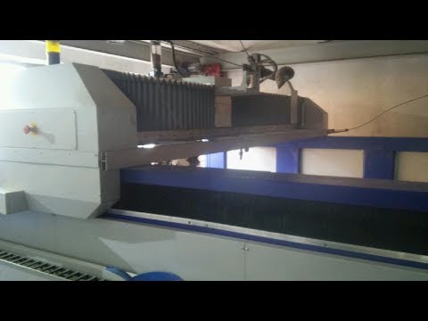 Máquina de corte por chorro de agua 3D ECKERT Opal WaterJet COMBO 3D/HD 2014