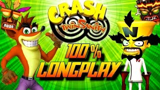Video Crash Twinsanity - Complete 100% Walkthrough (All Gems/All Crystals) HD MP3, 3GP, MP4, WEBM, AVI, FLV Juli 2018