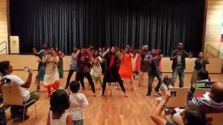 Walldorf Germany  city images : Indian Flashmob 2016 Walldorf Germany