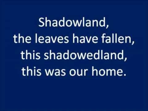 Shadowland Lyrics - The Lion King