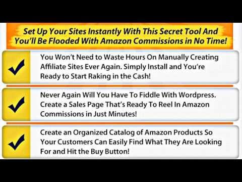 WSO Azon Lister Pro V2 Review – Get your amazon affiliate site up and running in minutes