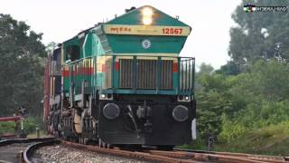 Kumta India  City pictures : Konkan Railway: Trains At Kumta - The Diesel Paradise!