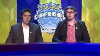2016 Pokémon National Championships: TCG Masters Top 8, Match B by The Official Pokémon Channel