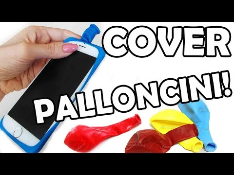 Come Fare una Cover con un Palloncino!! + Fail!!