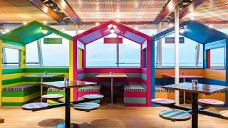 Watch this time-lapse video of  TUI Discovery 2's Snack Shack being built from start to finish. It's one of the seven eateries onboard our All Inclusive TUI Discovery 2, which joined the Thomson Cruises fleet this summer. This laidback dining area's been inspired by festivals and days at the seaside, so colourful beach huts and picnic-table seating are the theme. You'll be able to grab on-the-go grub here, like bacon butties and chicken wings. Other dining options onboard include Thai, Italian and tapas.See what else is on offer onboard TUI Discovery 2 at http://www.thomson.co.uk/cruise/ships/tui-discovery-2/.Or, search our deals pages to find a cruise getaway for this summer – http://www.thomson.co.uk/destinations/info/summer-2017-cruises Then connect with us via:https://www.instagram.com/thomsoncruises https://www.facebook.com/thomsoncruises