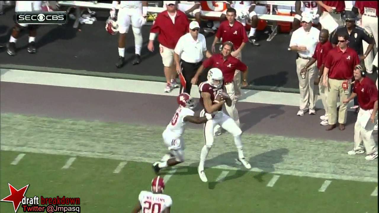 Mike Evans vs Alabama (2013)