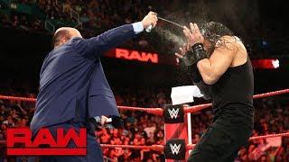 Nonton Paul Heyman And Brock Lesnar Ambush Roman Reigns  Raw  Aug  13  2018 Film Subtitle Indonesia Streaming Movie Download