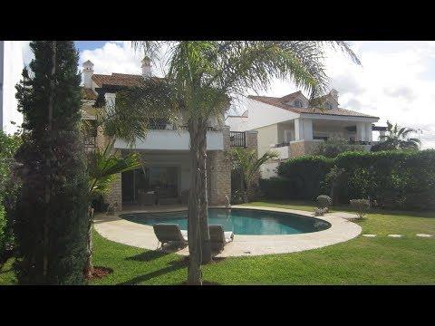 Dar Bouazza.Les jardins de l'océan. Villa de de luxe 1000m2 à vendre. видео
