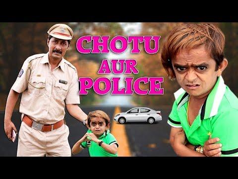 छोटू दादा और पुलिस वाला |CHOTU AUR POLICE WALA | Khandesh Comedy | Hindi Comedy | Chotu Comedy Video