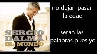 Sergio Dalma La Cosa Mas Bella Letra Lyrics YouTube