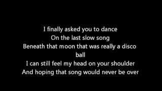 Lady Antebellum Dancing Away With My Heart Lyrics Video