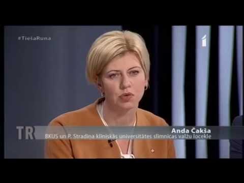 """28.10.2015. Veselības ministrs piedalās LTV raidījumā """"Tieša runa"""" 2.daļa"""