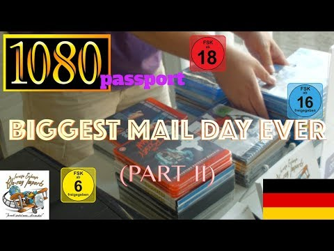 1080passport - Import Blu-ray Unboxing: Biggest Mail Day Ever! [Part 2] (4xblu)