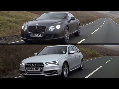 Bentley Continental GT Speed and Audi S4: Exploring VW Group DNA – /CHRIS HARRIS ON CARS