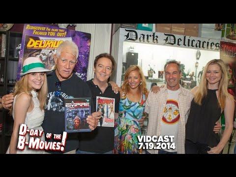 b movies - http://www.fullmoondirect.com Full Moon and DELIRIUM Magazine presents D-DAY OF THE B-MOVIES 2 http://www.DdayoftheBmovies.com/ Burbank horror hotspot Dark D...
