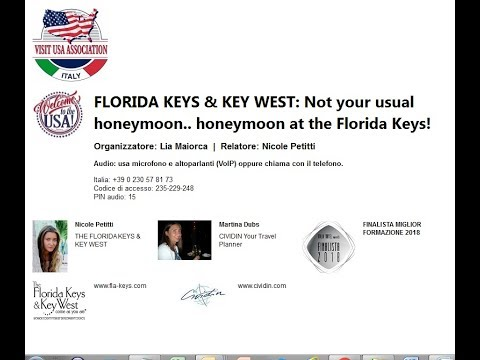 Video FLORIDA KEYS & KEY WEST: Not your usual honeymoon.. honeymoon at the Florida Keys!  (12-4-2018)