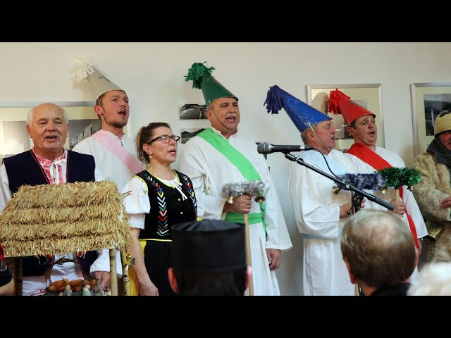 Koledníci z Ňagova - 2. časť z vystúpenia FS Zaruba v Prešove