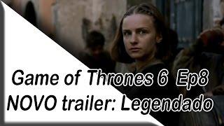"""NOME DO EPISÓDIO ORIGINAL E TRADUZIDO:Episódio 6×08: Niemand (No One/Ninguém)Game of Thrones 6x9 """"A Batalha dos Bastardos"""" Dubladohttps://www.youtube.com/watch?v=MK1m6c1_l20"""