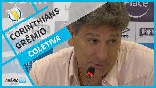 Video [COLETIVA] Pós-Jogo - Corinthians 0x1 Grêmio (Brasileirão 2018) l GrêmioTV MP3, 3GP, MP4, WEBM, AVI, FLV Agustus 2018