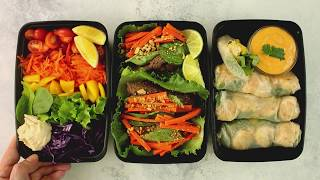 3 Light Make-Ahead Lunches To Meal Prep For Your Week by Tastemade