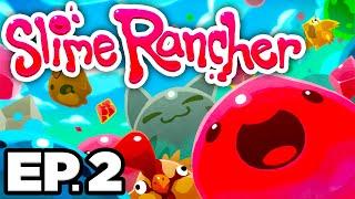 • GIANT CAT SLIME, TARR SLIMES, SECRET SKIN, MAKING LARGOS - Slime Rancher Ep.2 (Gameplay Lets Play)