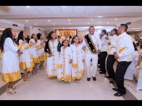 Ethiopian best, amazing beautiful wedding, 2016. Bancheamlak and Solomon (видео)