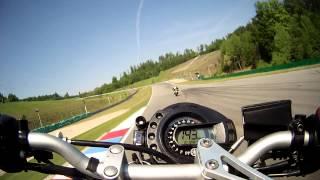 8. Yamaha FZ6 Brno race track