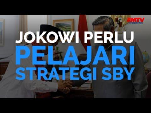 Jokowi Perlu Pelajari Strategi SBY