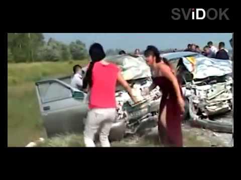 Авария на гулянке - DomaVideo.Ru