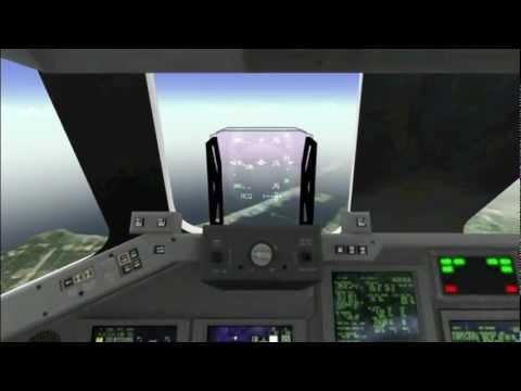 Video of F-Sim Space Shuttle