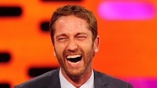 Gerard Butler Wins Wacky Wire - The Graham Norton Show - Series 13 Episode 1 - BBC One
