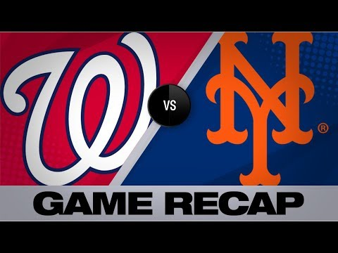 Video: Cabrera, Robles' clutch hitting lifts Nats | Nationals-Mets Game Highlights 8/11/19