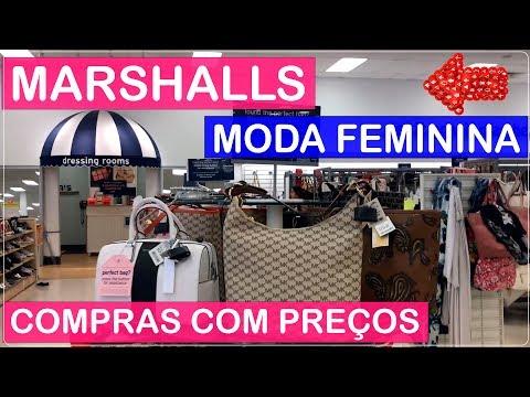 MARSHALLS Moda FEMININA em Orlando EUA com PREÇOS! Dica de Compras e Viagem.