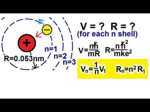 Physics - Modern Physics (17 of 26) The Bohr Atom: Velocity and Radius of the Electron