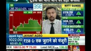 Kiran Jadhav, Technical Analyst, KiranJadhav.com on CNBC Awaaz on 16th June 2017