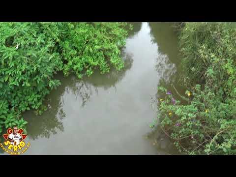 Mancha de Óleo no Rio São Lourenço em Juquitiba