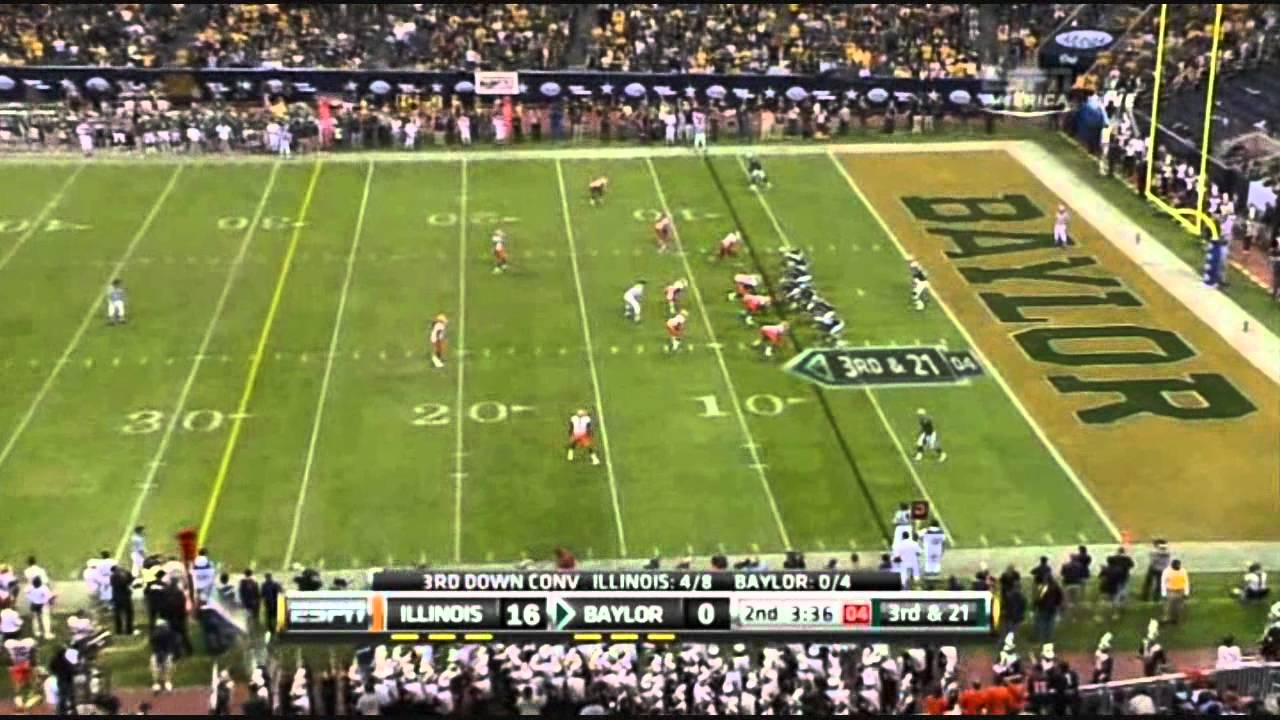Robert Griffin III vs Illinois (2010)