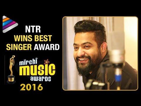 Jr NTR Wins Best Singer Award | Jr NTR Bags 2 Awards at Mirchi Music Awards 2016 |