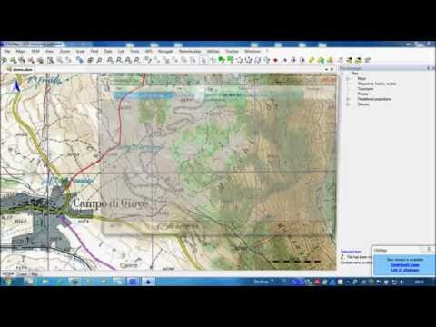 How to create a track with OkMap and display all path information (graphs, statistics)