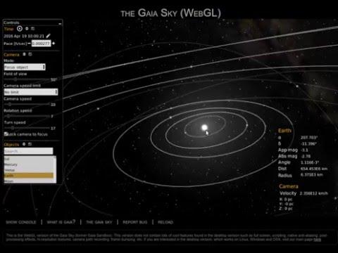 Gaia Sky WebGL