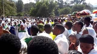 Ethiopian Church Choir In Gondar Celebrates Timket