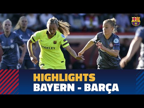 BAYERN 0 - 1 FC BARCELONA | Match Highlights (UWCL)