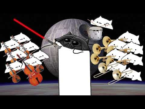 Bongo Cat Imperial March -  Imperial Bongo - Star Wars