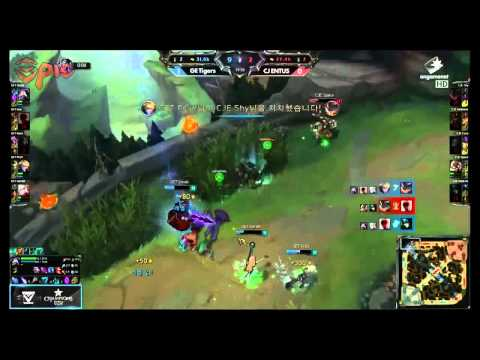 T Team GE Tigers Vs CJ Entus - LCK Spring 2015 W3D3